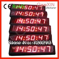 2.3 inch 6 digit Master-slave synchronization clock