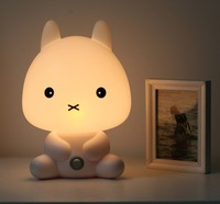 Many designs Cartoon energy saving lamp real child bedroom bedside lamp baby lamp small night light