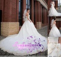 CooSoo boutique wedding live dress bridesmaid live dress big bubbles yarn laciness embroidery handmade