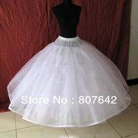 Free shipping Hot sale 8 layers NO Hoop Wedding Bridal Gown Dress Petticoat Underskirt Crinoline Wedding Accessories Sky-P006