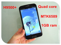 Hero H9500+ MTK6589 quad core android 4.2 phone with 1GB ram 3G 5.3inch smart phone 960*540 8MP camera GPS navigation
