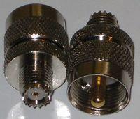 UHF PL 259 Male to Mini UHF Female