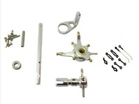WLToys V911 4CH Helicopter CNC Alloy Metal Upgrade set & Linkage Rod Set Sliver