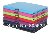 "Wholesale 100pcs/lot  smart slim PU leather case for kindle Fire HD 8.9"" mixed color DHL free shipping"