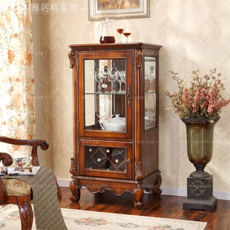 Yaju furniture single door wine cooler storage cabinet display cabinet bag h6163(China (Mainland))