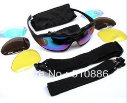Outdoor Traveling Motorcycle Cycling Eye Protection Glasses Safety Sport Goggles UV400 Sunglasses 4 Color lens reeshipping O058(China (Mainland))