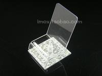 Acrylic mobile phone holder transparent chair rack cell phone holder mobile phone bracket mobile phone display rack