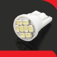 8 3020 car led reading light small light instrument lamp license plate lamp light bulb w5 w