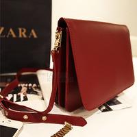 Fashion vintage 2013 women's red women's cross-body messenger bag handbag small messenger bag small bag