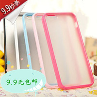 For Apple iPhone 5 Soft TPU Gel Case  Double Color Case,Clear and beautiful,Bulk and Retail are Available