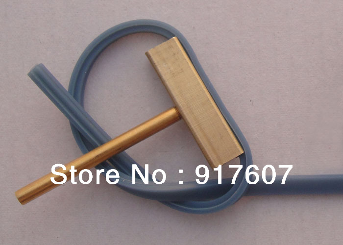 Wholesael Soldering iron Tip T-tip with rubber, pixel ribbon replace tool for 30W Soldering iron , cable repair tool(China (Mainland))