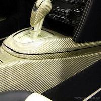 Three-dimensional carbon fiber engine cover stickers exterior refires