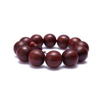 Venus beads lobular red sandalwood bracelets 20mm male bracelet