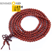 Lobular red sandalwood beads bracelet fashion all-match 4mm216 Women