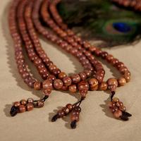 Lucky hainan chrysanthemum pear bracelet 8mm108 rosewood rosary