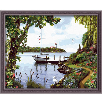 Digital oil painting diy decoration oil painting digital painting - 40 50