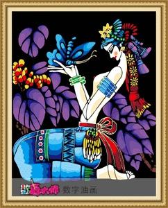 Diy digital oil painting decorative painting 60 75