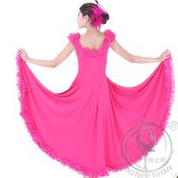 Beautiful Dancewear Viscose Tulle Performance Modern Dance Dress  MQ1079