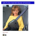 Safe fit thickening car safety belt adjust device child safety belt protector(China (Mainland))