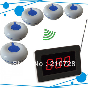Nice design Nurse call bell system for hospital of 25 waterproof caller button for patient and 1 display receiver for doctor