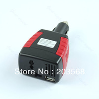 150W Car Power Inverter Charger Adapter 12V DC To 110/220V AC+USB 5V+ Free Shipping