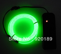 Beautiful 3M Green Neon Light Glow EL Wire Rope Tube Car Dance Party