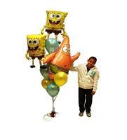 Free Shipping Cartoon Baby Birthday Party Balloons Combination Many Lovely Television Theme Decoration