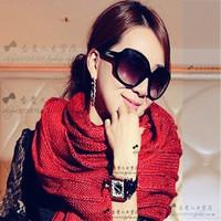 Polarized all-match fashion oversized sun glasses sunglasses large sunglasses female sunglasses