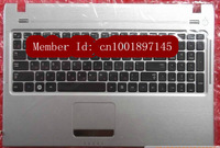Free shipping OriginalGenuine/New GoodWorking laptop keyboard with C shell for SAMSUNG Q330 Q430 Q530 Q460 US\UK\FR\GR\RU