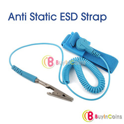 Anti Static ESD Wrist Strap Discharge Band Grounding[3301|01|01](China (Mainland))