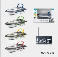 Free Shipping New 13cm Radio Control Mini RC Boat 777-218 For Gift Toy