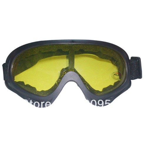 Free Shipping New Arrive Hot Outdoor Goggle Safty eyes Protection Glasses (Yellow)(China (Mainland))