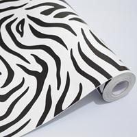 45cm*10m Pvc wallpaper abstract zebra print bedroom wallpaper furniture y1111