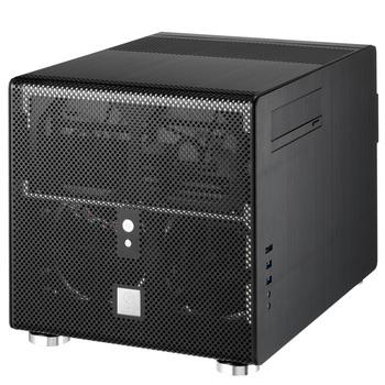 Pc-v353 black mini computer case itx computer case desktop computer case htpc computer case