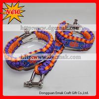 emergency military survival tool kit paracord survival bracelet
