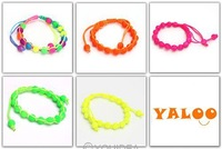 Free Shipping 2013 new Mixed Assorted 24Pcs Colorful Handmade Braided Lucky Cords Macrame Friendship Lucky Bracelet 60172