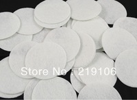 600pcs Felt 50mm Circle Appliques - White Free Shipping