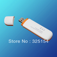Free shipment,promotion 7.2Mbps Download Internal SIM card slot HSDPA 3G Usb Modem white