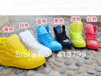 2013 fluorescence color candy color patent leather sports shoes
