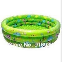 Free shipping,70cm trinuclear inflatable child swimming pool baby swimming pool Small bathtub ocean ball ZF049