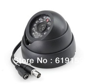 black CCTV camera, 1/4 IR Color 420TVL 24LED dome Security Mini Dome Video Camera