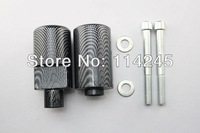 motorcycle parts Carbon Frame Sliders Crash Protector For Suzuki GSXR 1000 2005 2006