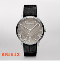 Original AR1612 Wholesale Quartz Mens Watch Strap Circle Fashion Male Watch  + Free Shipping DHL
