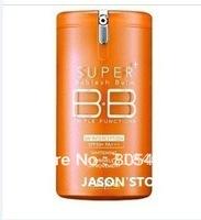 Free shipping 6PCS/LOT NEW Arrival Hot sale !! triple function 365 DAYS vitamin orange super BB Cream SPF50+ PA+++ 40ml