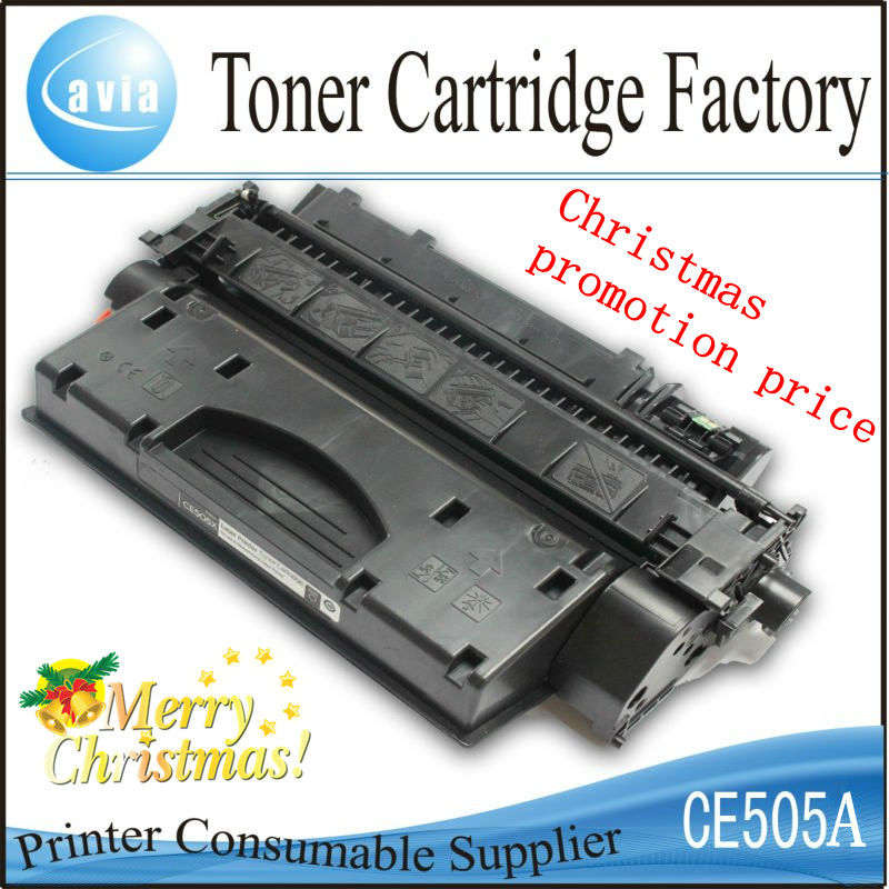 Manufacturer Supplier:ce505a 505a 05a Toner Cartridge for HP P2035/P2055 ,Black with Chip(China (Mainland))