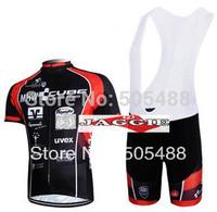 Free shipping+breathable+pad COOMAX+2012 black CUBE Cycling Jersey+BIB SHORTS Bike Sets Clothes Cycling wear/bicycle apparel