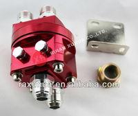10AN Dual Engine Oil Cooler Sandwich Adapter