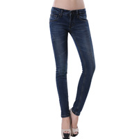 2013 spring women's fashion all-match skinny pants pencil pants denim trousers 2600