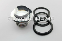 motorcycle parts Chrome Non Vented Screw-in Fuel Tank Gas Cap For Harley Davidson 1982 - 2012