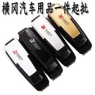Car glasses clip card stock purse multifunctional sun-shading stoopable clip car glasses clip r glasses clip